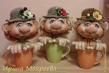 Капроновые куклы