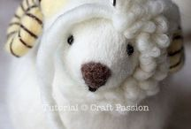 Needle felted ideas