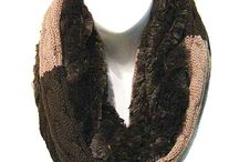 Wintry Infinity Scarves