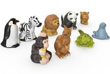 TOYS ZOO ANIMALS