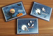 halloween cards ornaments
