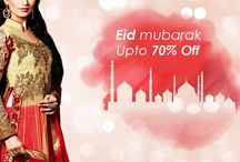 Eid Collection / Eid festivities a colorful edge with our array of festive attire in all Shades.Our collection is Anarkali Suit,Salwar Kameez, lehenga Choli and Sarees. Up to 70% Off..Hurry Up !!!