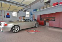 Garage Design Projects / Enrich the Main Entry of Your Home with a custom designed garage by Global Garage Flooring and Design. http://globalgarageflooring.com/