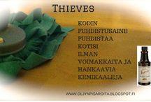 Thieves / #kodinpuhdistusaine#thieves