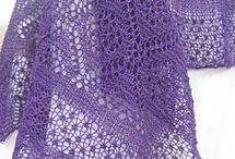knitted lace shawls