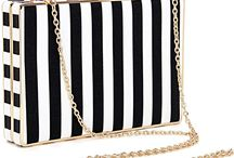 Striped Bags / Stripes are bold and powerful, but they can also be fun and whimsical, depending on the colors, and the type of bag they're decorating. While this design element is not great for evening bags, it is excellent for daytime to exude power and uniqueness.