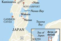 Japan noto schiereiland