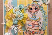 Καρτες γλυκα κοριτσακια
