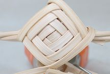 Basketry, weaving