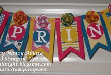 Banners / Fun banners for home décor and more!