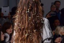 blomst-hår