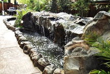 StoneMakers Water Features / This board contains possibilities for water feature design with our StoneMakers system