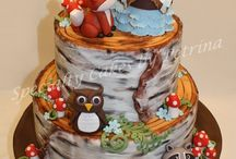 wood land baby shower
