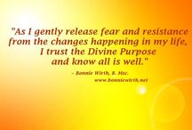 """Mantras that Matter! / Sharing with you personal mantras that I have created and use to """"Bring on the Joy"""" in my life!"""