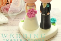 Wedding cake figure