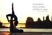 Inspiration: The Yoga Life / Some people and pieces that have inspired us for our practice and our Soulie creations.
