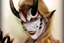 Special FX / Make up , costumes , halloween... / by Prisha Lanae