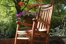 Outdoor Rocking Chairs / We carry a variety of outdoor rockers, including our exclusive World's Finest Rocking Chair and eco-friendly rocking chairs. #outdoorrockingchairs #relax #rockingchair  | http://www.frontera.com/ / by Frontera Furniture
