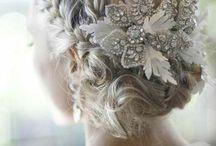 Wedding hair& nails