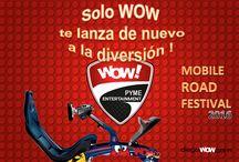 mobile road festival wow / en WOW nos caracterizamos por la innovación y la tecnología presentando cada año proyectos lúdicos con actividades recreativas que promueven la creatividad ! es un espacio unció para vivirlo en familia !