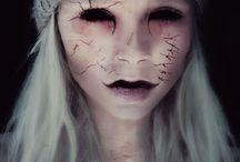 Maquillaje horror