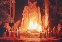 Illuminati locations / Locations associated with the Illuminati.