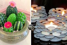 decorazioni con sassi