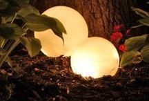 lys i hagen