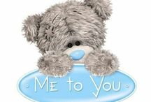"Tatty Teddy ""Me to you"" / Simbolo de amistad y amor"