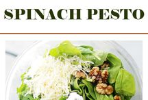 Pesto spinich