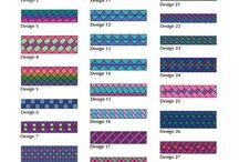 Seminoleborder og mønstre / Ønskeblokken i Quiltemagasinet 4-2015