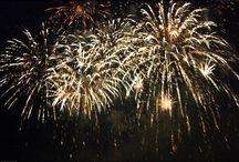 Feux d'artifices / Fireworks / Feux d'artifices / Fireworks