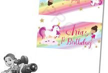 Unicorn & Fairy Birthday Party