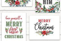 Christmas  printerbles
