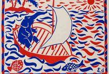 Animals - Eddy Varekamp / Stencil and linocut prints
