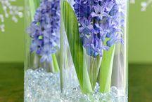 Blomster/oppsatser osv
