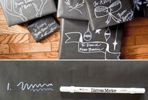 Chalkboard Gift Wrapping Ideas / by Rose Clearfield