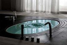 my floor bathtub