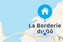 Chambres d'hotes B&B en Charente Maritime / Maison d'hôtes de charme , La borderie du Gô vous accueille toute l'année . Laborderiedugo.com
