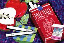 VINTAGE CIGARETTE,CIGAR & ALCOHOL ADS & POSTERS / by Mary Barnes-Ekobena