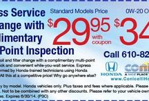 June 2014 Service Coupons / Check out these great service deals from Conicelli Autoplex!