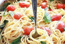 Recipes ~ Pasta Entrees