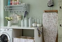 Laundry Room Ideas / Tips & Tricks to make the Laundry Room more pleasant.