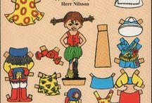 Pippi tema förskola