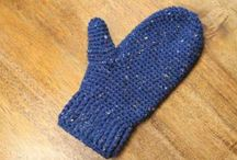 Crochet Gloves, mittens & fingerless gloves