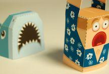 Papieren knutsels 3D