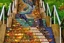 Stairs / Tiled Staircases