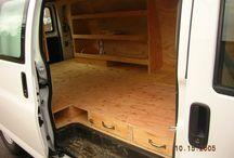 wooden vans