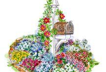 Plans petits jardins