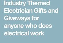 Electrical  Electrican Themed Gifts / Electrical Themed Gifts.  Perfect For Electric Companies, Electricians, Electrical Contractors and Electrical Engineers.  We have products geared towards you and only you! Never worry about what to get as we have so many options, you will have gifts to last you awhile.  If there is something you don't see, tell us and we will get it just for YOU!